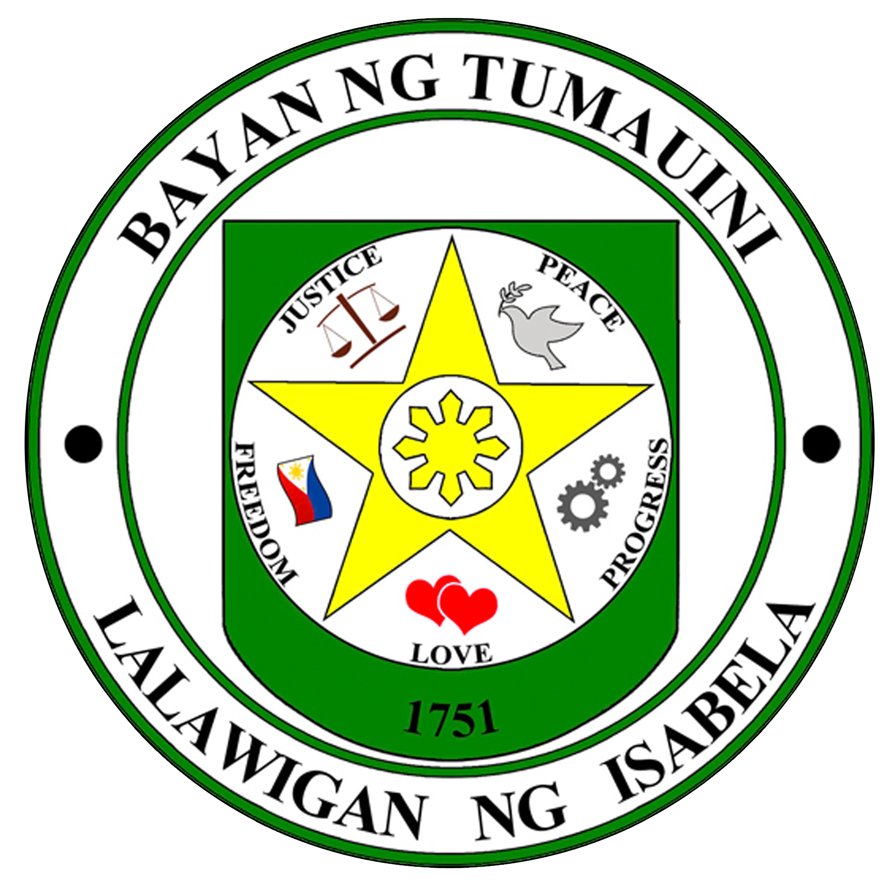 Municipality of Tumauini Official Logo